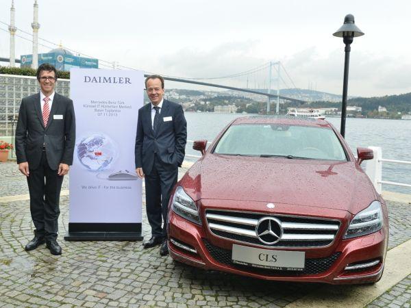Mercedes-Benz Türk, Daimler'in yeni Küresel IT Hizmetleri Merkezi oluyor