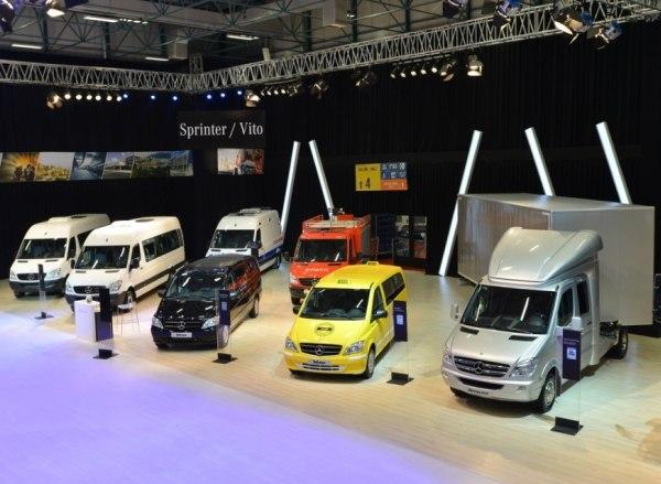 Mercedes-Benz Comvex 2013 standı