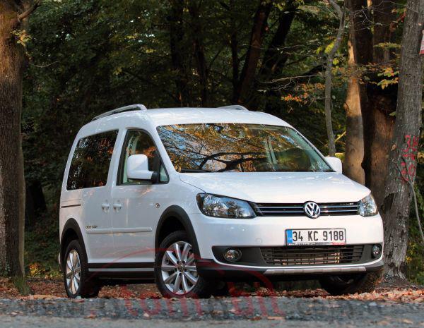 Volkswagen Cross Caddy Kombi 1.6 TDI DSG sürüş izlenimi-test