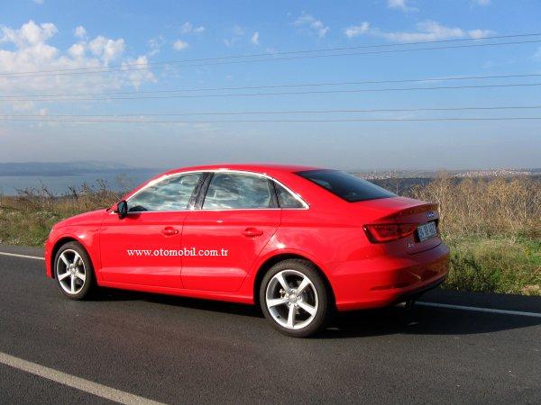 Yeni Audi A3 Sedan 1.4 TFSI S tronic test sürüşü videosu