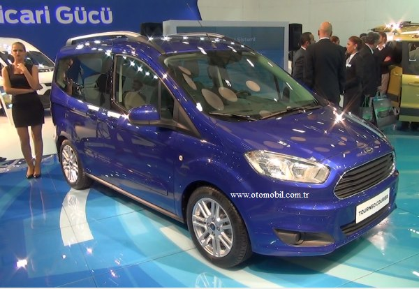 Yeni Ford Tourneo Courier 2014 video