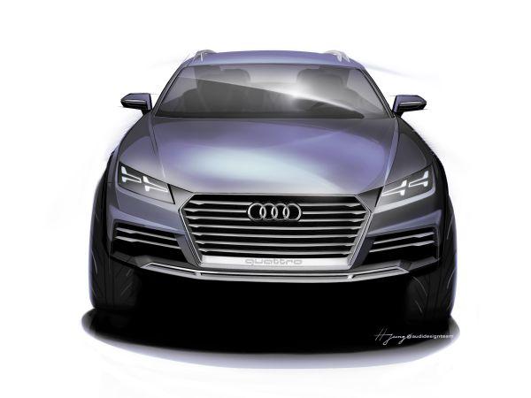 Audi Showcar 2014 Detroit Motor Show'da sergilenecek