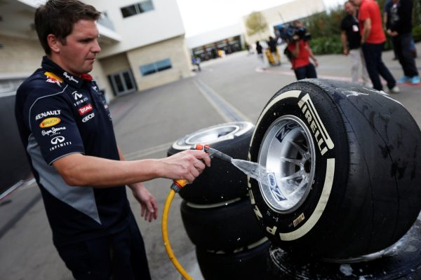 Formula 1'de 3 yılda 112.200 lastik