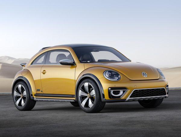 Volkswagen Beetle Dune Concept 2014 Detroit'te sergilendi