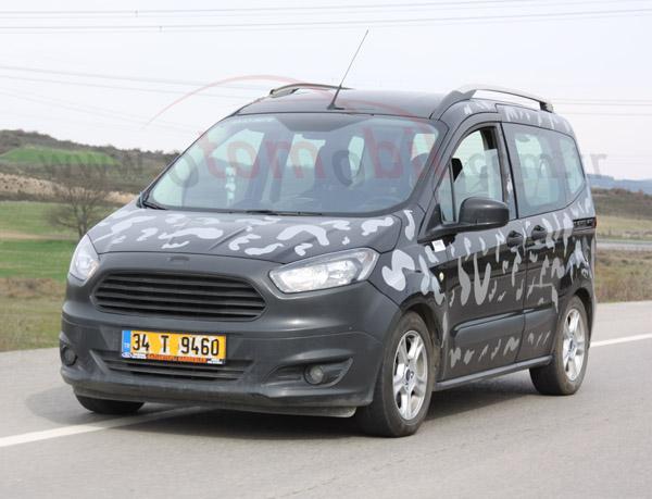 Yeni 2015 Ford Mondeo ve 2014 Ford Tourneo Courier modellerini testte yakaladık