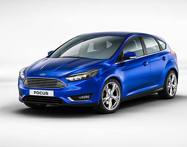 Yeni yüzlü Ford Focus 2014 fotoğraf galerisi
