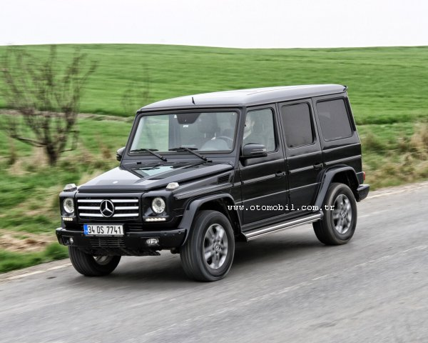 mercedes-benz g 350 bluetec sw video test - otomobil