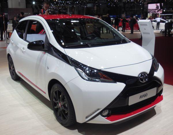 Yeni Toyota Aygo Cenevre'de sergileniyor
