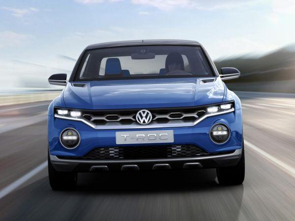 Volkswagen T-ROC Concept 2014 tanıtıldı