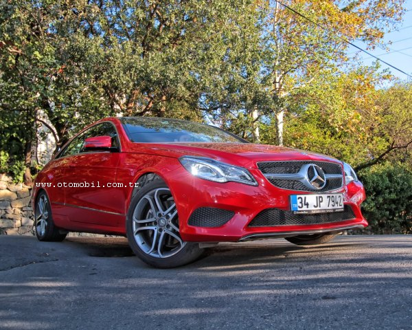Yeni Mercedes-Benz E 250 Coupe video test