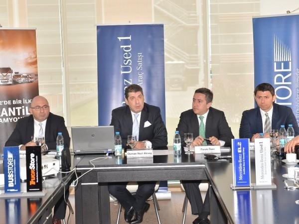 Mercedes-Benz Türk, ikinci el faaliyetlerinde büyüyor