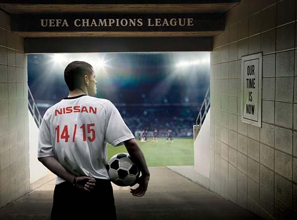 Nissan UEFA Şampiyonlar Ligi sponsoru oldu