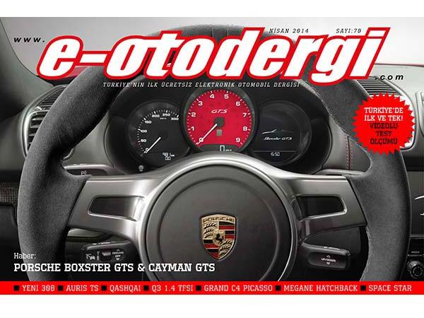 e-otodergi Nisan 2014 sayısı yayında