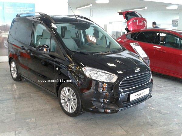 Yeni Ford Transit-Tourneo Courier fiyat bilgileri