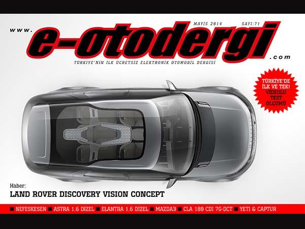e-otodergi Mayıs 2014 sayısı yayında