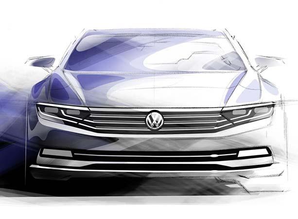 Yeni Volkswagen Passat 2015 böyle olacak