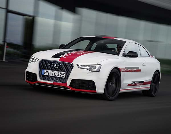 Audi RS 5 TDI Concept hazır
