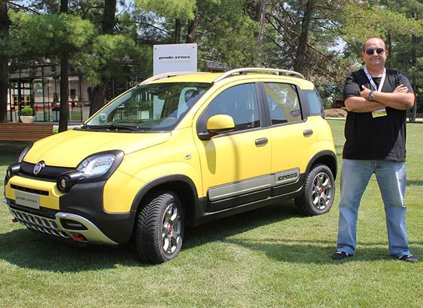Yeni Fiat Panda Cross 4x4 2014 test videosu