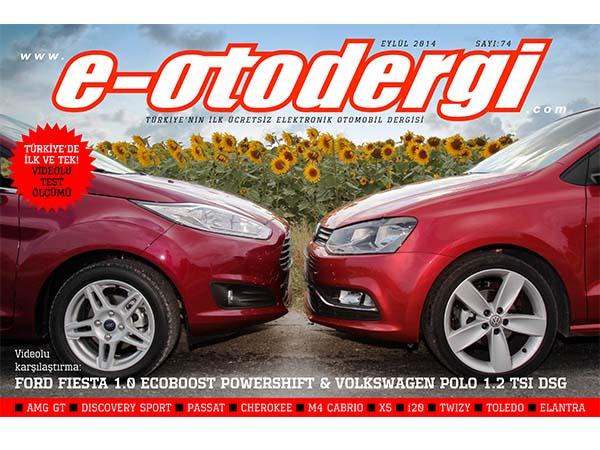 e-otodergi Eylül 2014 sayısı yayında