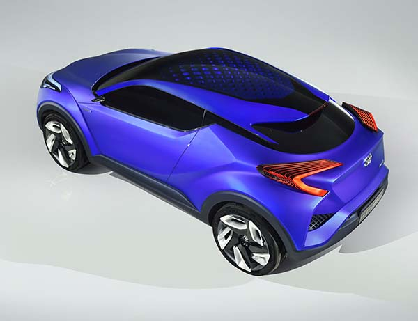 Toyota C-HR Concept Paris'te tanıtılacak