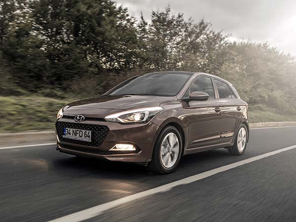 Yeni 2014 Hyundai i20 test videosu