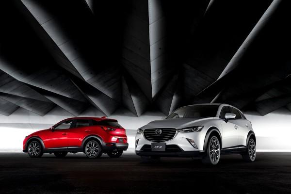 Mazda CX-3 tanıtıldı