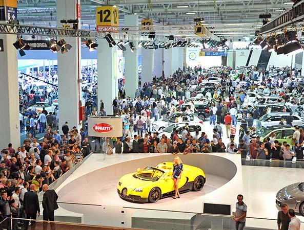 İstanbul Autoshow 2015 kapılarını 22 Mayıs'ta açacak