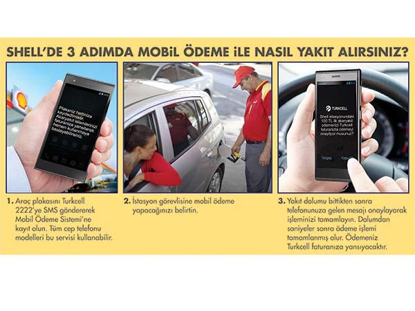 Shell ve Turkcell müşterileri SMS ile yakıt alacak