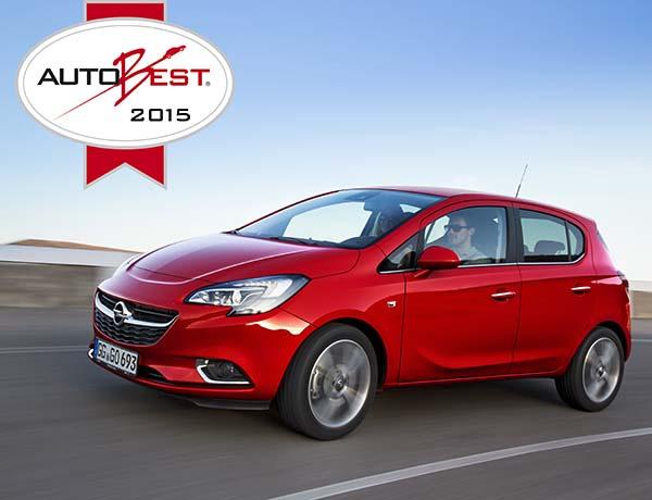 Yeni Opel Corsa 2015 AutoBest seçildi