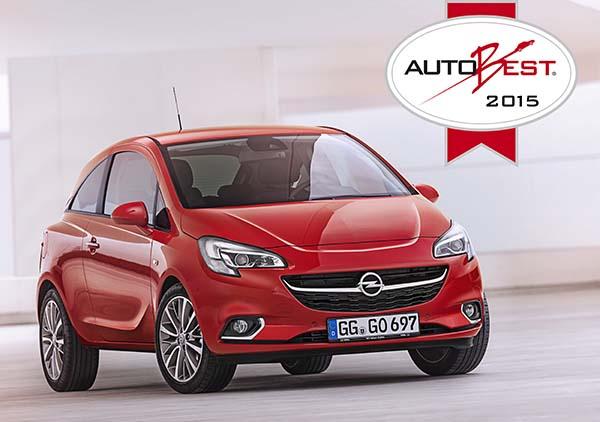 Opel Corsa AUTOBEST 2015