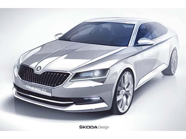 Yeni Skoda Superb 2015 testleri tamamlandı