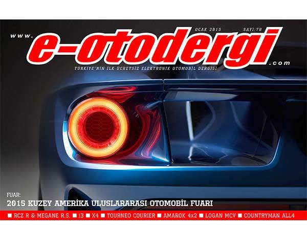 e-otodergi Ocak 2015 sayısı yayında