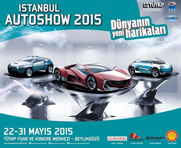 istanbul autoshow 2015 afis