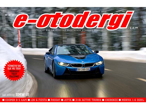e-otodergi Şubat 2015 sayısı yayında