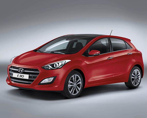 Yeni yüzlü Hyundai i30 2015 satışa sunuldu