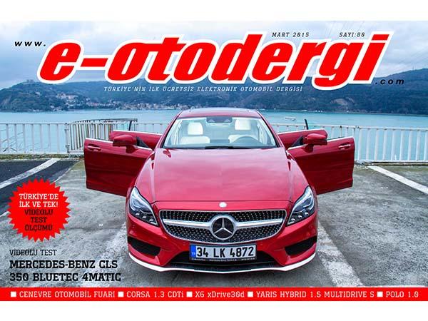 e-otodergi Mart 2015 sayısı yayında
