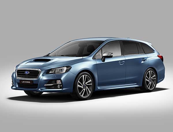 İstanbul Autoshow 2015 Subaru Levorg
