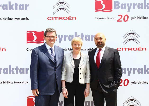 Citroen-Bayraktar işbirliği 20 yılı geride bıraktı