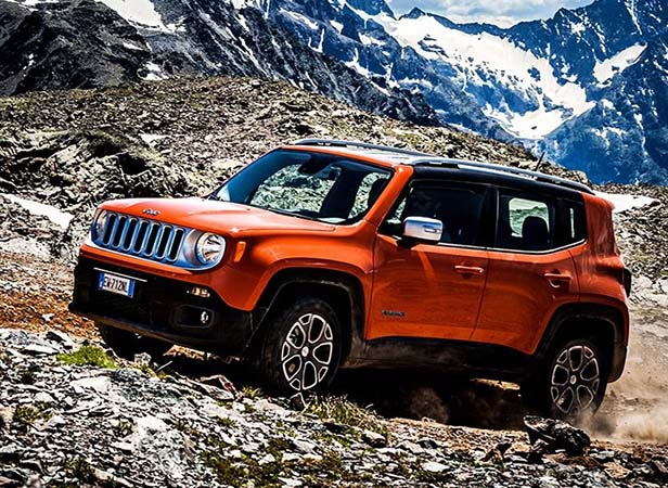 Jeep Renegade otomatik şanzımana kavuştu