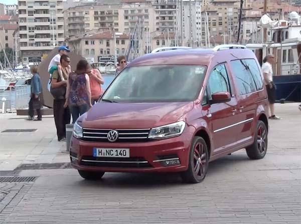 Yeni Volkswagen Caddy 2015 ilk izlenim videosu