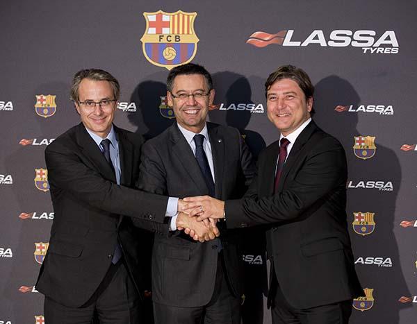 Lassa FC Barcelona'nın global partneri oldu