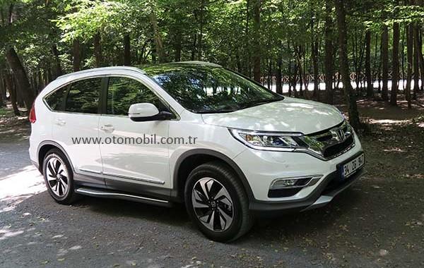 Yeni 2015 Honda CR-V 1.6 i-DTEC Dizel Otomatik test videosu
