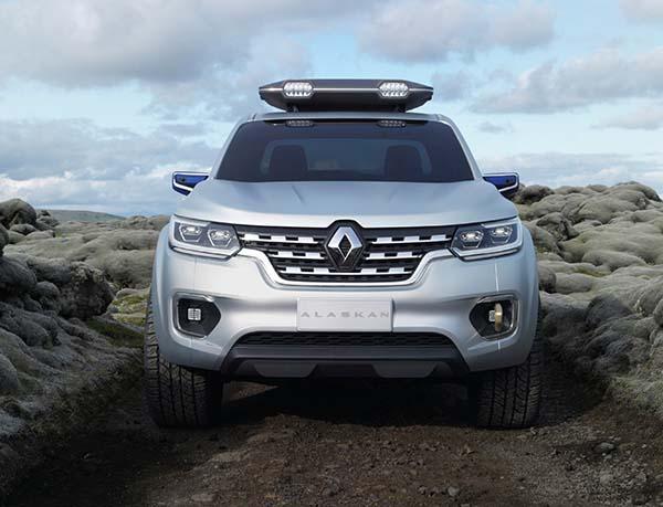 Renault Alaskan Pick-up Concept fotoğraf galerisi ve videosu