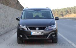 Yeni Seat Alhambra 1.4 TSI DSG 2016 test videosu