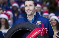 Lassa Barcelonalı oyunculara sürpriz yaptı