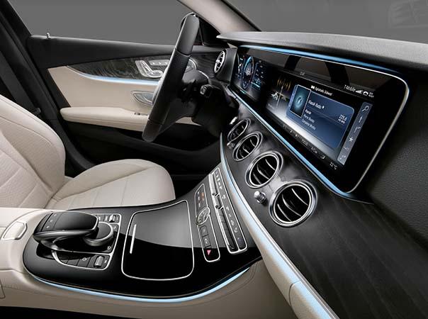 Yeni Mercedes-Benz E Serisi 2016 kokpit iç mekan