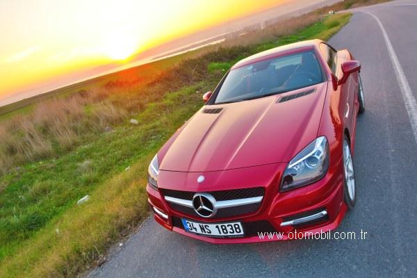 Mercedes-Benz SLK 300 AMG test sürüşü