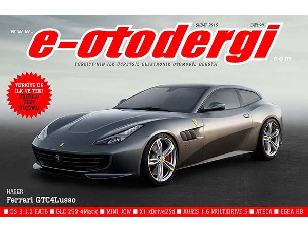 e-otodergi Şubat 2016 sayısı yayında