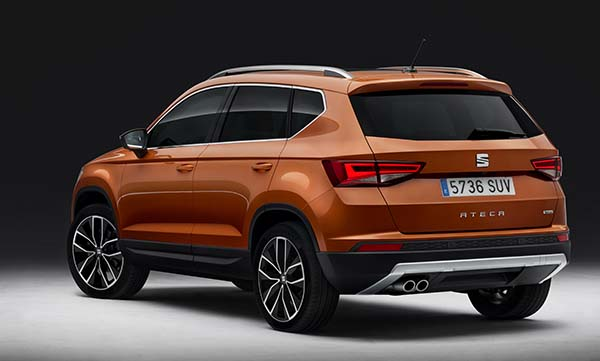 seat suv modeli ateca 2016 tan t ld otomobil. Black Bedroom Furniture Sets. Home Design Ideas