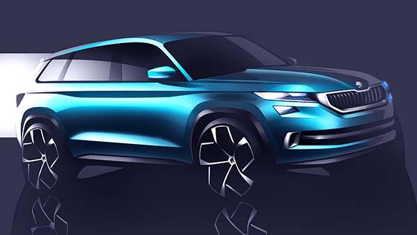 Skoda VisionS SUV konsepti
